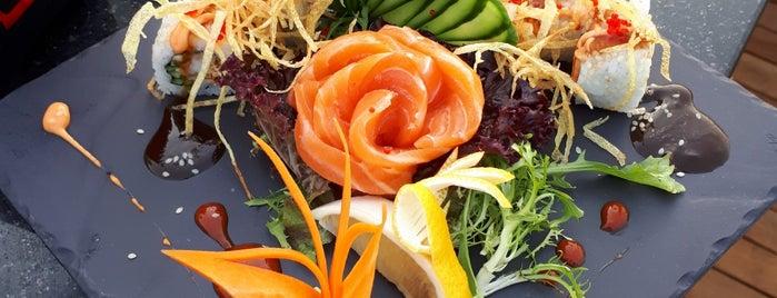 Natsu Teppanyaki&sushi bar is one of bodrum.