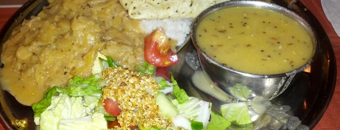 Vegetariánská restaurace Balarama is one of Gespeicherte Orte von Anil.