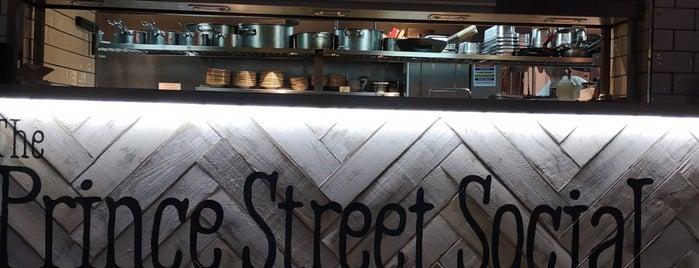 The Prince Street Social is one of Serradura 님이 저장한 장소.