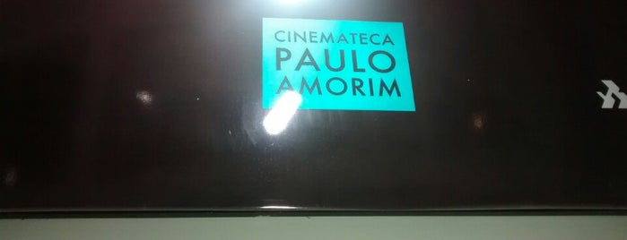 Cinemateca Paulo Amorim is one of Cine Paradiso.