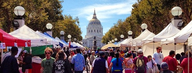 Heart of The City Farmers Market is one of San Francisco Veggie friendly.
