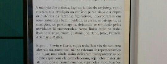 Atelie Galeria Priscila Mainieri is one of Galerias de Arte SP.