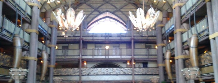 Jambo House - Disney's Animal Kingdom Lodge is one of Orte, die Alan gefallen.