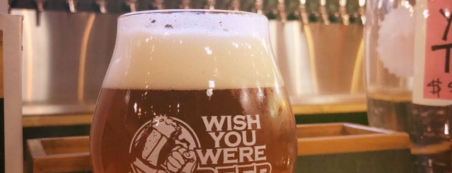 Wish You Were Beer-Campus 805 is one of Best of Huntsville.