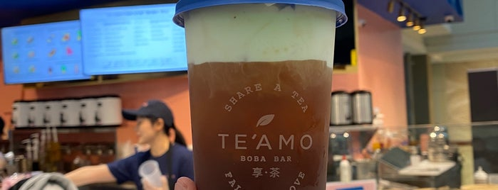 Te'Amo Boba Bar is one of Would visit.
