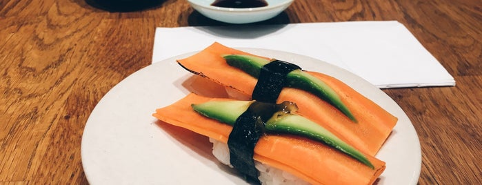 Youmiko Vegan Sushi is one of Two (vegetarian) days in Warsaw.