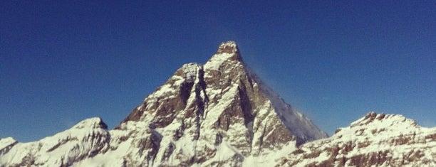 Monte Cervino is one of Dove sciare.