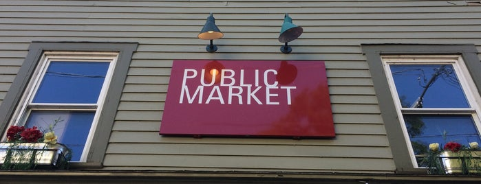 W. Stockbridge Public Market is one of Locais curtidos por Sascz (Lothie).