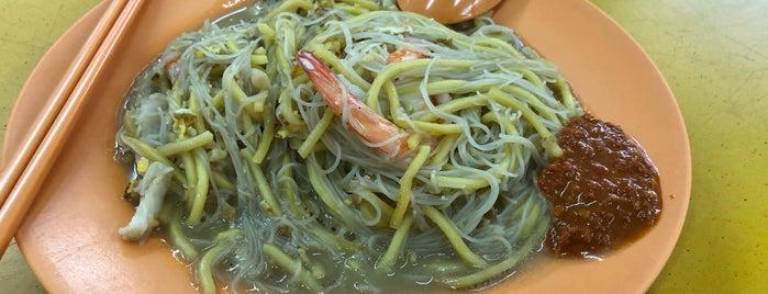 Yi Ji Fried Hokkien Prawn Mee is one of Posti che sono piaciuti a Freddie.