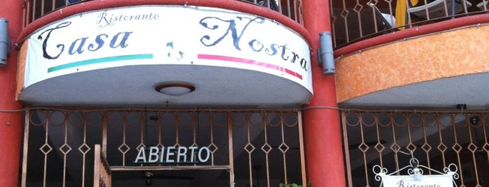 La Casa Nostra Ristorante is one of Aca.
