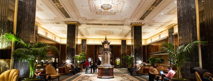 Waldorf Astoria New York is one of USA: Hotels.