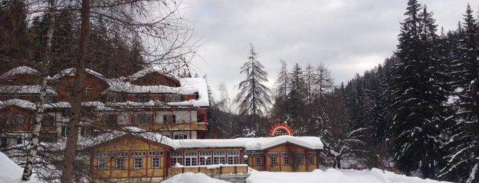 Parkhotel Sole Paradiso is one of Daniele'nin Beğendiği Mekanlar.