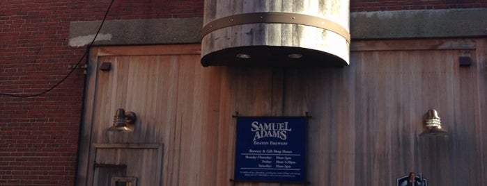 Samuel Adams Brewery is one of Breweries USA.