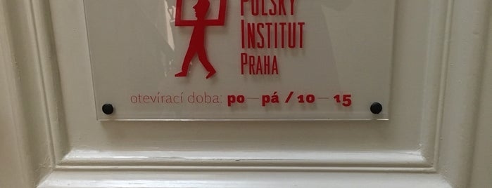 Polský Institut is one of To-Do in Prague I.