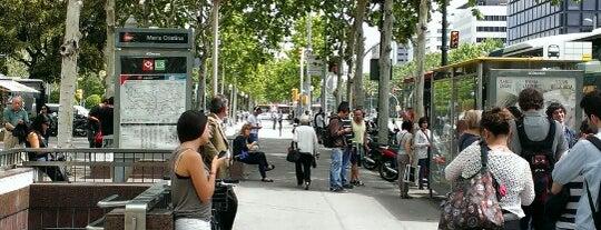 Plaça de la Reina Maria Cristina is one of Guide to Barcelona's best spots.