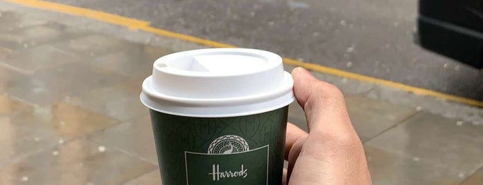 Harrods Café is one of Best in london.