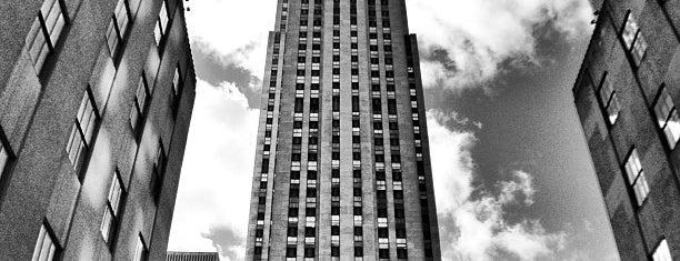 Rockefeller Center is one of Marvel Comics NYC Landmarks.