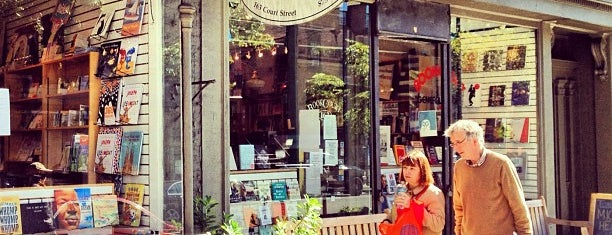 BookCourt is one of NYC To-do....