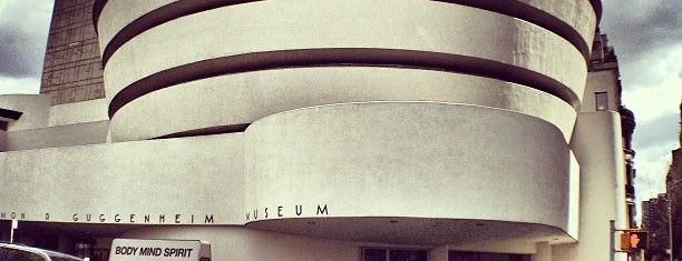 Solomon R Guggenheim Museum is one of NYC.