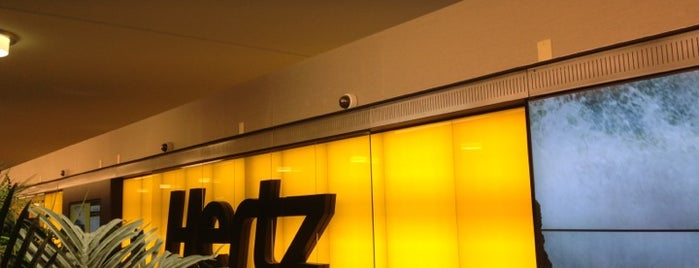 Hertz is one of Lugares favoritos de Kyle.