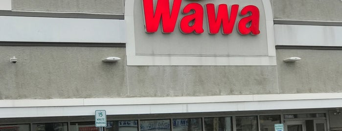 Wawa is one of Lieux qui ont plu à Theresa.