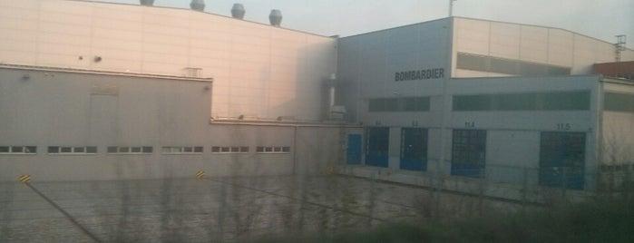 Bombardier is one of Lugares favoritos de Serhan.