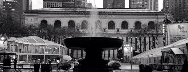 Bryant Park is one of City Guide: New York, New York.