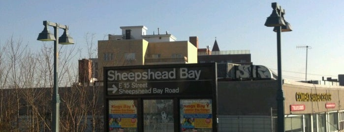 MTA Subway - Sheepshead Bay (B/Q) is one of Gespeicherte Orte von Diana.