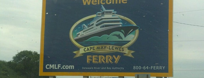 Cape May-Lewes Ferry | Cape May Terminal is one of Orte, die John gefallen.