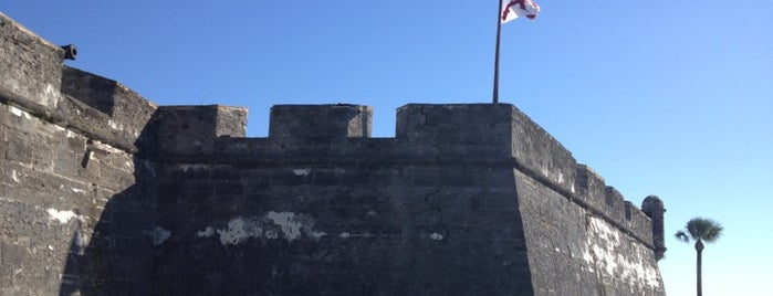 Castillo De San Marcos National Monument is one of Florida.