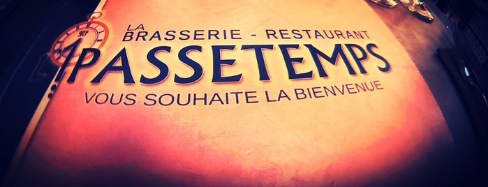 L'1Passetemps is one of Avis d'un gourmand.