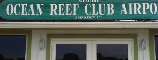 Ocean Reef Club Airport is one of Hopster's Airports 1.