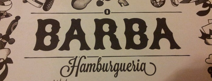 O Barba Hamburgueria (Barbinha) is one of 𝔄𝔩𝔢 𝔙𝔦𝔢𝔦𝔯𝔞さんのお気に入りスポット.