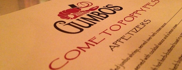 Gumbo's North on the Square in Georgetown is one of Georgetown's Best Restaurants.