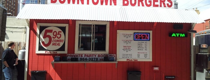 Down Town Burgers is one of Burgers.
