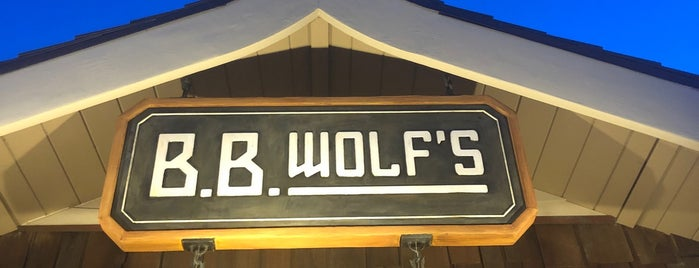 B.B. Wolf's Sausage Co is one of Disney Springs.