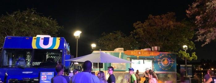 Food Truck Park is one of Disney Springs.