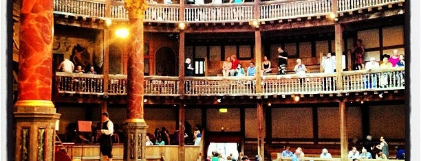 Shakespeare's Globe Theatre is one of Inglaterra.