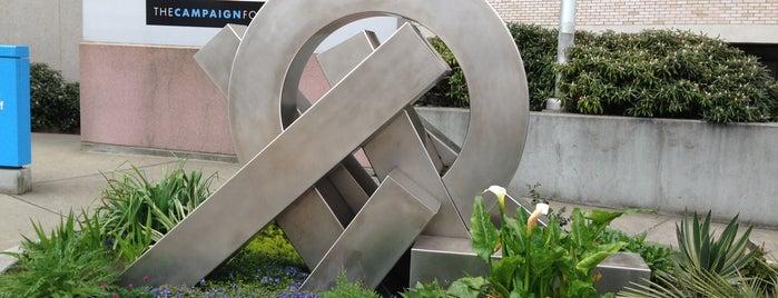 Pier Series By Allan W. Lobb is one of Public Art in Seattle: Broadway.