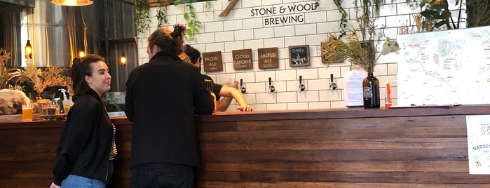 Stone & Wood Brewing Company is one of Byron.