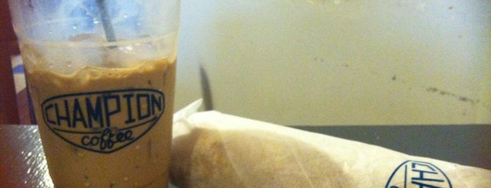 Champion Coffee is one of The Best Coffee in New York.