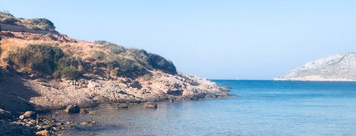 Dio Liskaria Beach is one of 🇬🇷Leros.