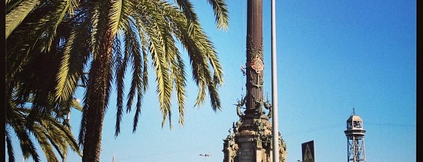 Monument a Colom is one of Barcelona Lovers.