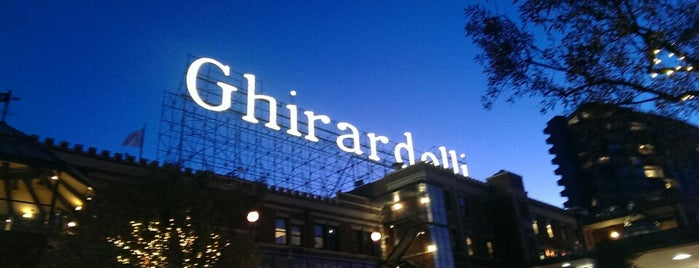 Ghirardelli Square is one of Guide to San Fran.