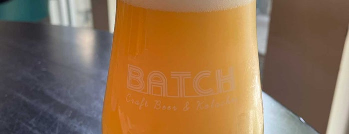 Batch Craft Beer And Kolaches is one of Austin 2018.