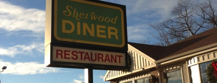 Sherwood Diner is one of Posti che sono piaciuti a Diana.