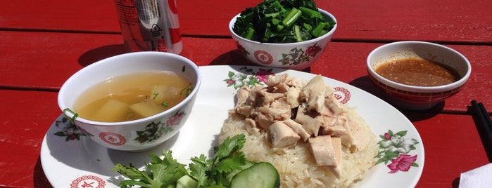 "Nong's Khao Man Gai is one of ""Where I Take Visitors"" Guide to Portland."