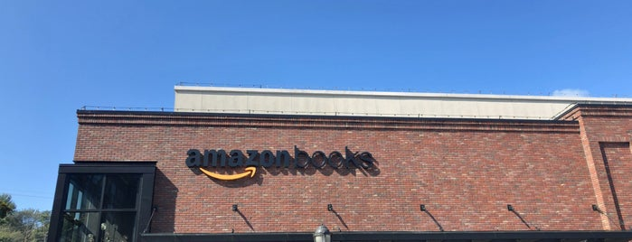Amazon Books is one of For Christy <3.