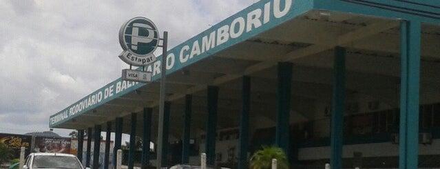Terminal Rodoviário de Balneário Camboriú is one of สถานที่ที่ Paty ถูกใจ.