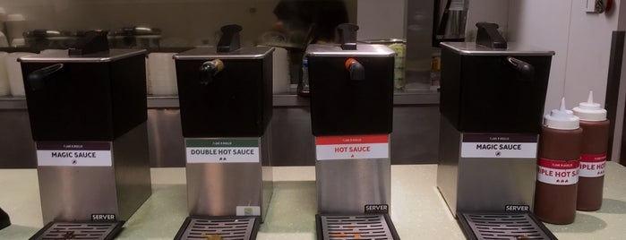 The Flame Broiler is one of Food places.